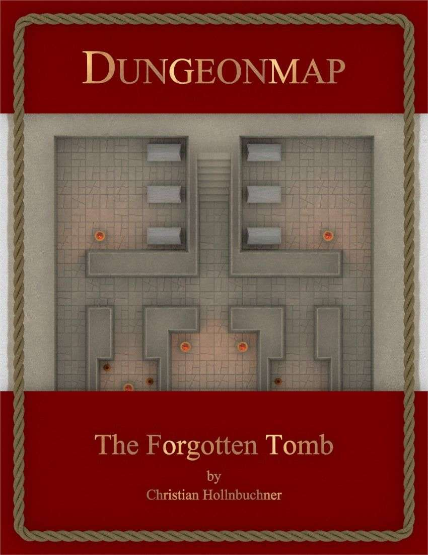 Dungeonmap : The Forgotten Tomb