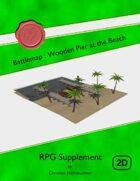 Battlemap : Wooden Pier at the Beach