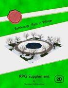 Battlemap : Park in Winter