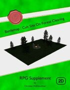Battlemap : Cult Site On Forest Clearing