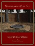 Subterranean Cult Site : Stockart Background