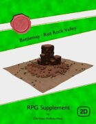 Battlemap : Red Rock Valley