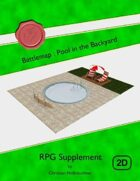 Battlemap : Pool in the Backyard