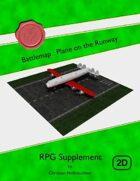 Battlemap : Plane on the Runway