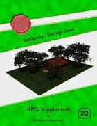 Battlemap : Storage Shed