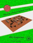 Battlemap : Library in between Worlds