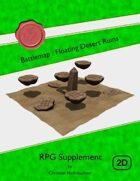 Battlemap : Floating Desert Ruins