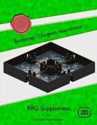 Battlemap : Dungeon Intersection