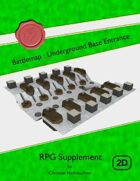 Battlemap : Underground Base Entrance