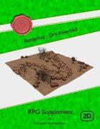 Battlemap : Dry Riverbed