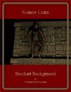 Narrow Ledge : Stockart Background