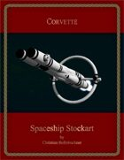 Corvette : Spaceship Stockart