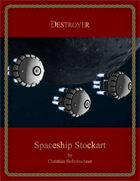 Destroyer : Spaceship Stockart