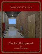 Dormitory Corridor : Stockart Background