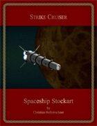 Strike Cruiser : Spaceship Stockart
