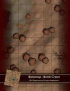 Battlemap : Bomb Crater