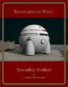 Interplanetary Ferry : Spaceship Stockart