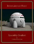 Interplanetary Ferry : Spaceship Stockart