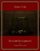 Slime Cube : Stockart Background