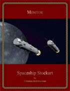 Monitor : Spaceship Stockart