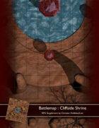 Battlemap : Cliffside Shrine