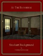 At The Bathhouse : Stockart Background