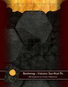 Battlemap : Volcanic Sacrifical Pit