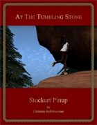 At The Tumbling Stone : Stockart Pinup