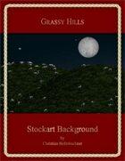 Grassy Hills : Stockart Background
