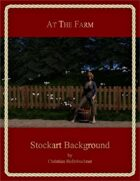 At The Farm: Stockart Background