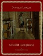 Dungeon Library : Stockart Background