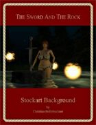 The Sword And The Rock : Stockart Background