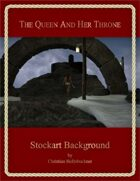 The Queen And Her Throne : Stockart Background