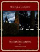 Making a Sacrifice : Stockart Background