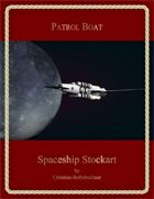 Patrol Boat : Spaceship Stockart