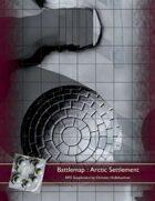 Battlemap : Arctic Settlement