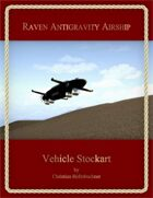 Raven Antigravity Airship : Vehicle Stockart