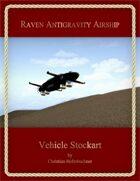 Raven Antigravity Airship : Vehicle Stockart