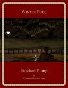 Winter Pool : Stockart Pinup