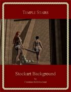 Temple Stairs : Stockart Background