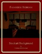Farmhouse Bedroom : Stockart Background