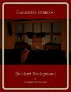 Farmhouse Bedroom : Stockart Background