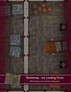 Battlemap : Ice Loading Dock