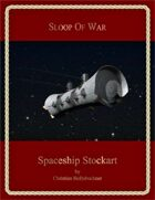 Sloop of War : Spaceship Stockart