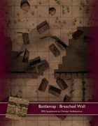 Battlemap : Breached Wall