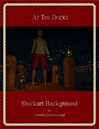 At the Docks : Stockart Background