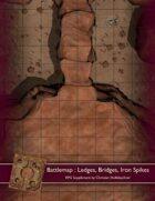 Battlemap : Ledges, Bridges, Iron Spikes