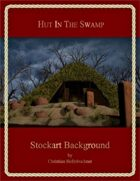 Hut In The Swamp : Stockart Background