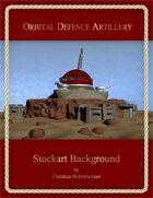 Orbital Defence Artillery : Stockart Background