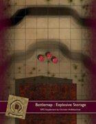 Battlemap : Explosive Storage